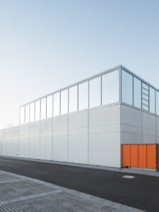 Sports hall - Heinle Wischer Partner Architects, Dresden