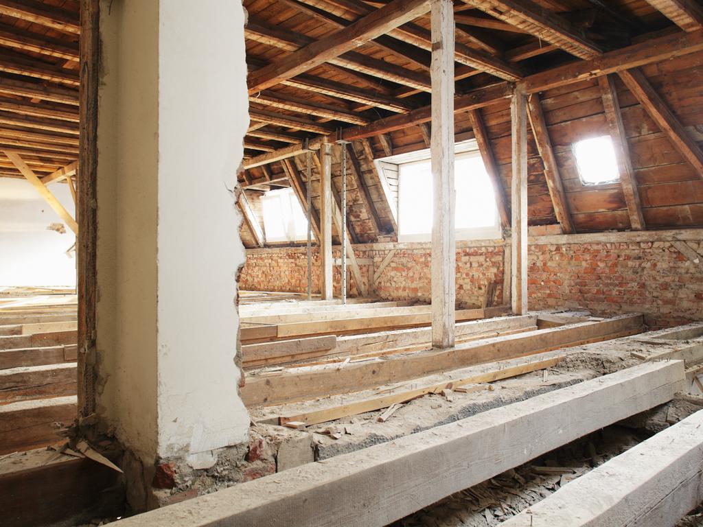 Villa Weiss, Helmbrechts — Bauphase