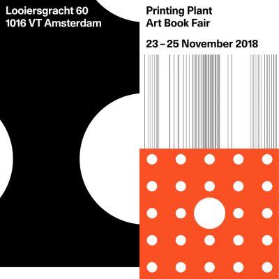 Printing Plant — Art Book Fair, Amsterdam