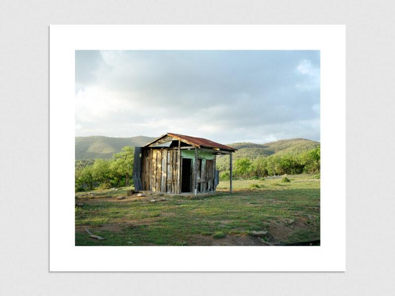 Shepard hut, Pigment Print